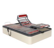 Canapé tapizado con somier articulado